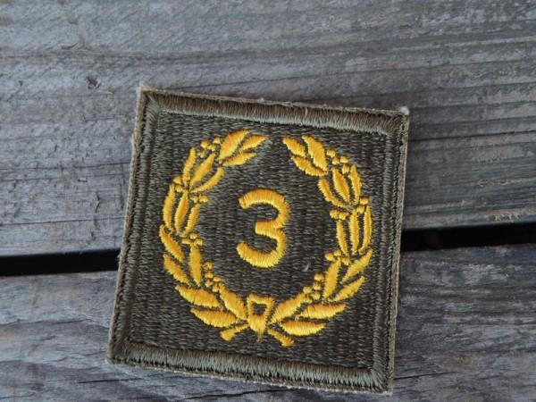 """US Army Abzeichen Kranz """" 3 """""""