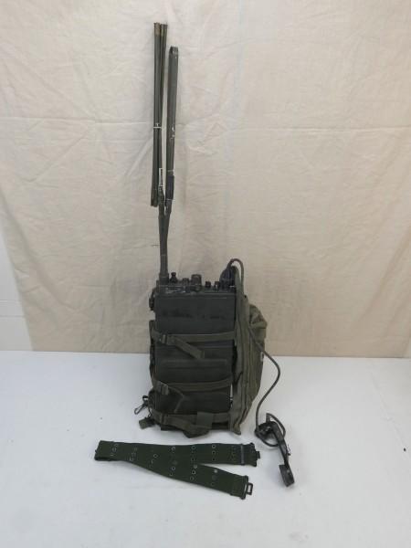 US ARMY FUNKGERÄT VIETNAM RADIO RECEIVER PRC-10 + Zubehör WILLYS JEEP #15