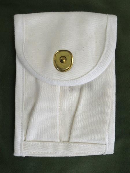 US ARMY Type WW2 & Vietnam Colt 1911 Magazintasche Doppelmagazintasche MP Militär Polizei weiß