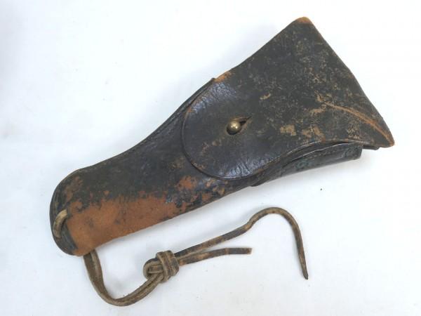 US Army Leather Holster Colt 1911 brown Lederholster Original brown
