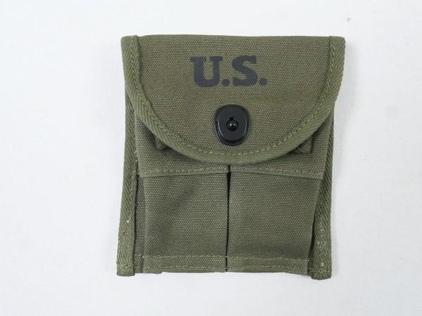 US ARMY WW2 M1 Carbine Doppel Magazintasche für 2 Magazine pistol belt loop