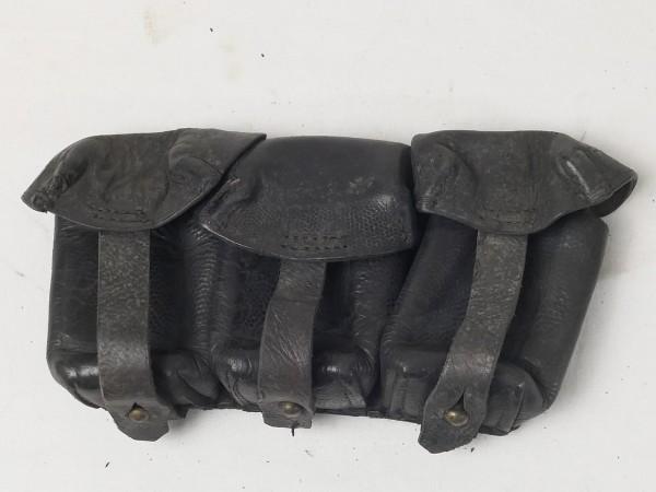 WK1 Patronentasche K98 schwarz WK1 Schles. Schauf
