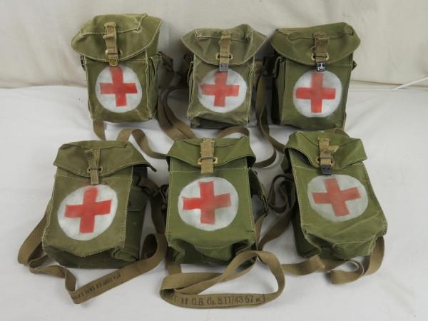 WK2 Britische Rotkreuz Tasche mit Trageriemen Sanitäter - british first aid bag