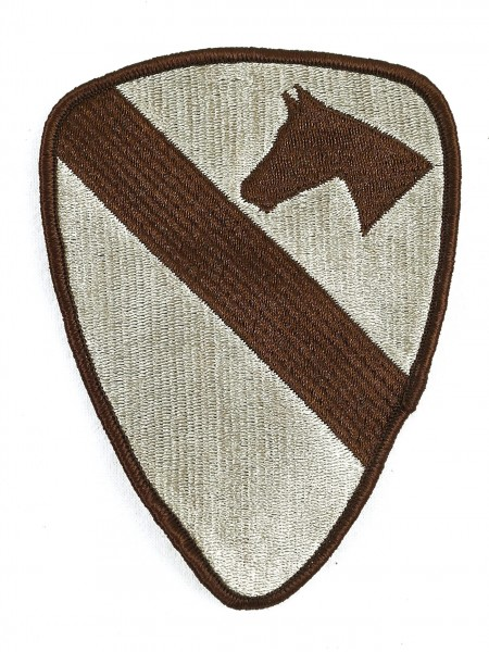 1st Cavalry Division - US Army - Desert Patch