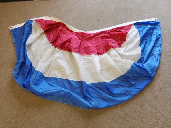 USA Pultflagge Trikolore Parade Flagge Fahne mit Metallösen 186cm x 96cm