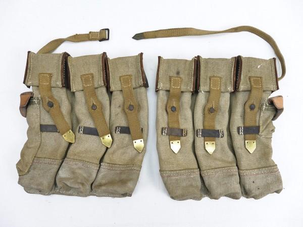 #09 Wehrmacht 2x Magazintasche Paar Sturmgewehr 44 Tropen Südfront STGW44 MP44 MKB Afrikakorps