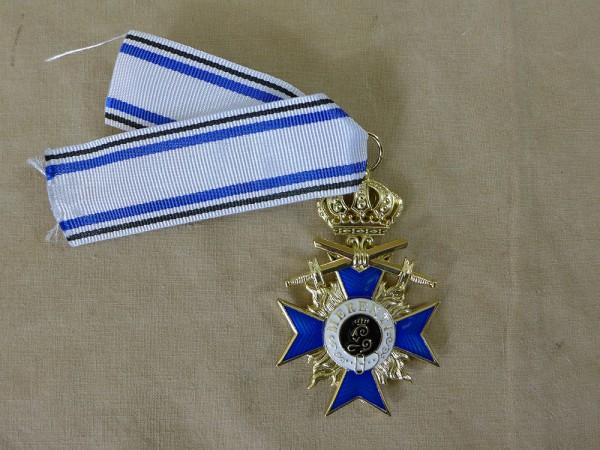 Bayrischer Militär Orden - Verdienstorden 3.Klasse mit Schwertern und Krone