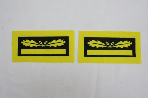 1x Paar WSS Brigadeführer Generalmajor Dienstgradabzeichen