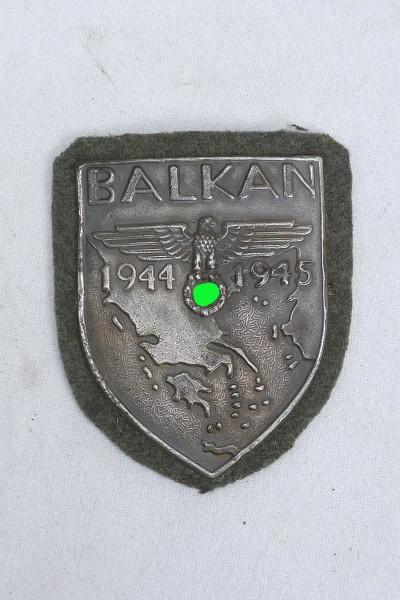 Wehrmacht Ärmelschild Balkan 1944 1945 Balkanschild Feldbluse F.A.D.