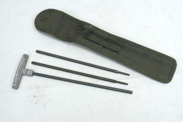 US Army M1 Cleaning Rod + Case 5506573 Putzstab + Tasche für 30 Cal.