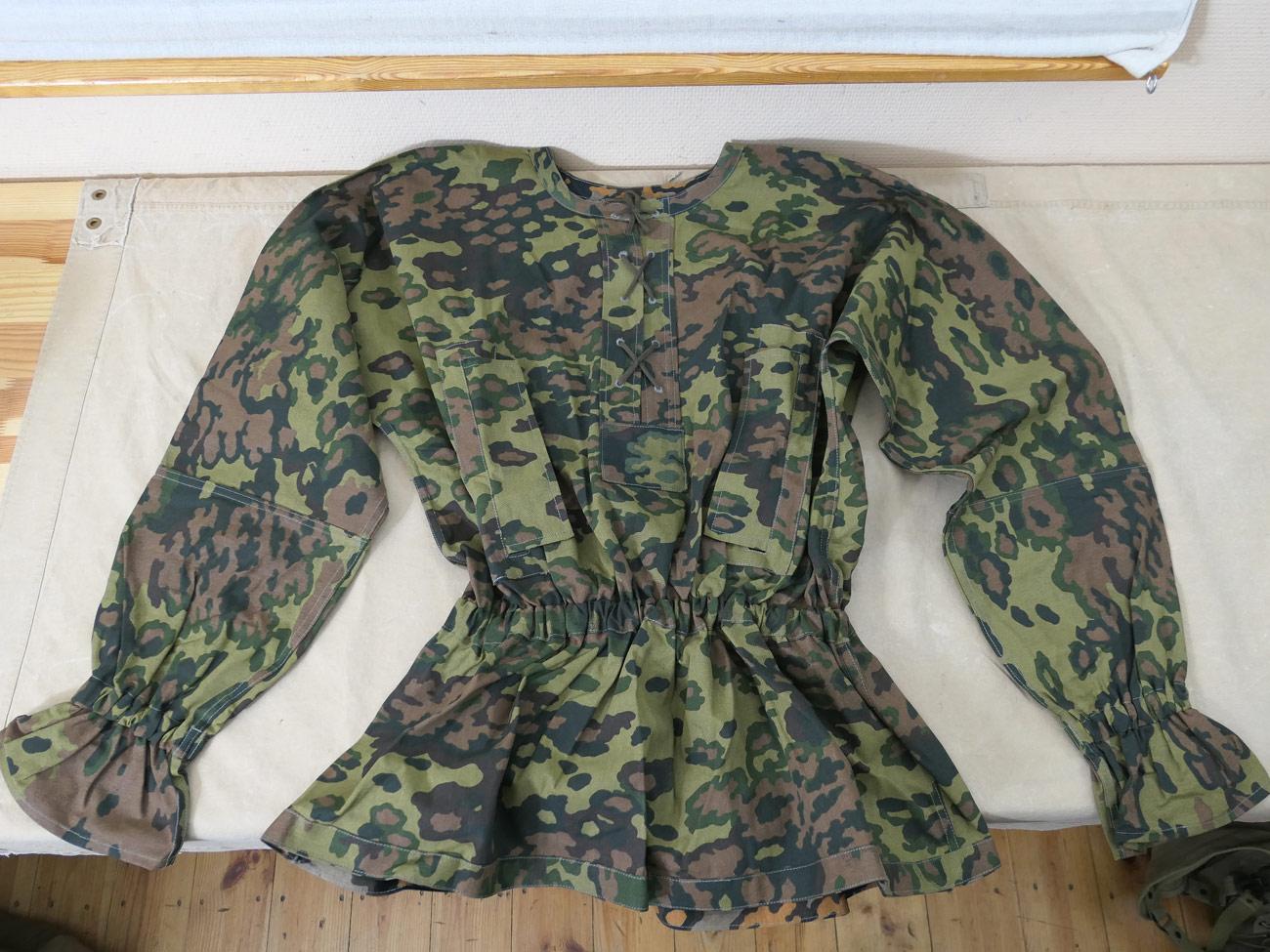 size XL Sammeln & Seltenes Uniformen & Effekten WSS M40 TYPE I Schlupfjacke Eichenlaub oak A CAMOUFLAGE SMOCK