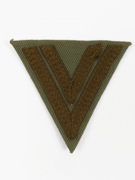 Wehrmacht Obergefreiten Rangabzeichen Obegefreitenwinkel DAK Winkel