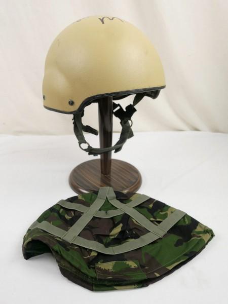 GB British Army Gefechtshelm Helmet Combat ASSAULT MK7 Helm Medium mit Bezug