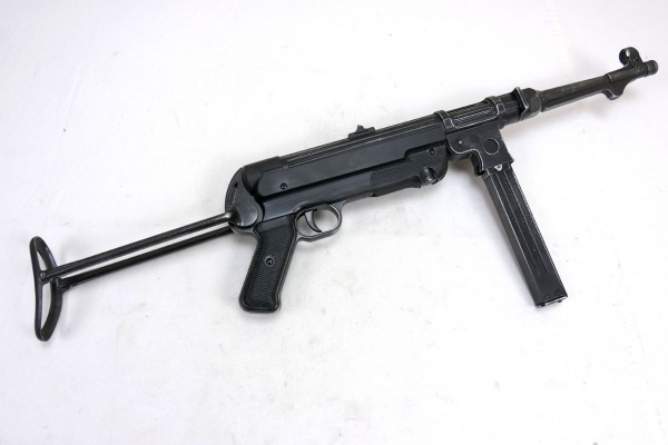 Wehrmacht MP38 Maschinenpistole Deko Modell Filmwaffe Metall Denix MP 38 #4