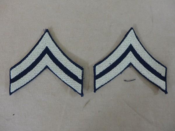 US ARMY WW2 Ranks Dienstgradabzeichen Corporal Uniform Rang Abzeichen