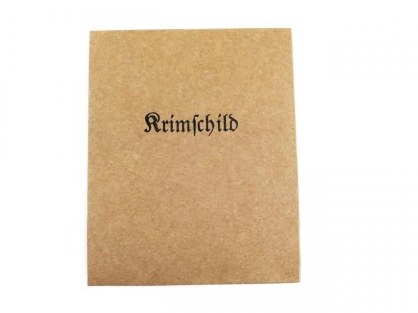 Verleihungstüte Krimschild (418)