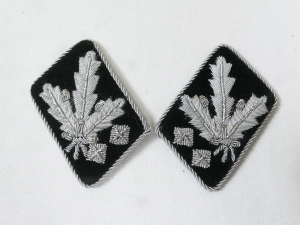 Waffen Elite Paar Kragenspiegel SS Obergruppenführer und General