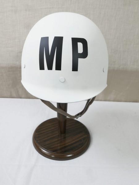 US MP Innenhelm Military Police Liner / Kunststoff Helm M1 weiß Militär Polizei