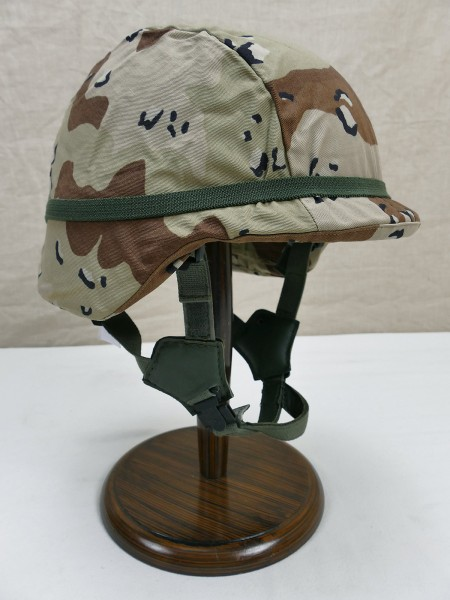 Dänischer Gefechtshelm CGF Gallet Combat Helmet Gr. Small mit Desert Storm Helmbezug