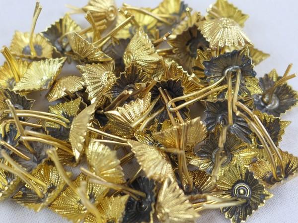 Typ Wehrmacht Dienstgradstern Stern Pickel Schulterstückauflage Gold