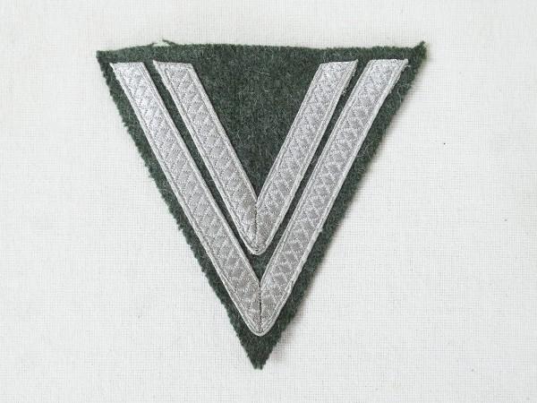 Wehrmacht Heer M40 Obergefreitenwinkel Dienstgrad Winkel Obergefreiter f. Feldbluse