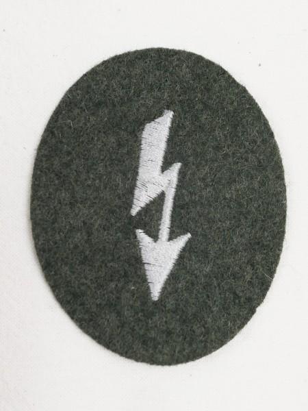 Wehrmacht M36 Funker Blitz Ärmelabzeichen