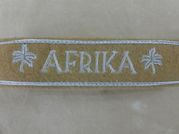Abzeichen Ärmelband AFRIKA für Offiziere