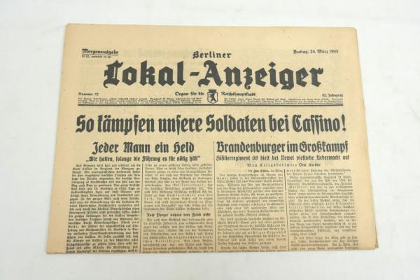 WK2 Vollständige Tageszeitung - Berliner Lokal-Anzeiger 24.März 1944 - Morgenausgabe