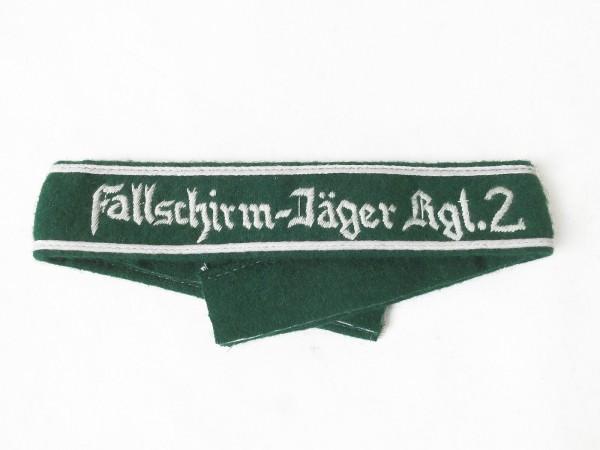 Ärmelband Fallschirm-Jäger-Rgt. 2 Ärmelstreifen Fallschirmjäger #A