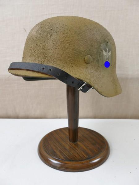 Wehrmacht Afrikakorps Südfront Tarn Stahlhelm Tropen SD Rauhtarn M35 M40 M42 Gr. 57/58