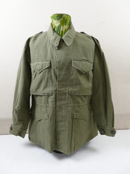 US ARMY WW2 Vintage Field Jacket M-1943 Feldjacke M43 Jacke prewashed