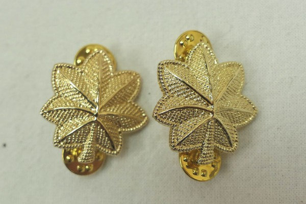 US Army Rangabzeichen Major 1x Paar Abzeichen Insignia PIN
