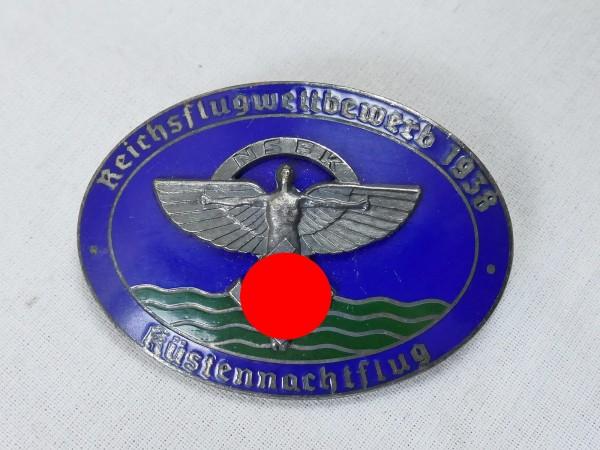 NSFK Abzeichen Reichsflugwettbewerb 1938 Küstennachtflug