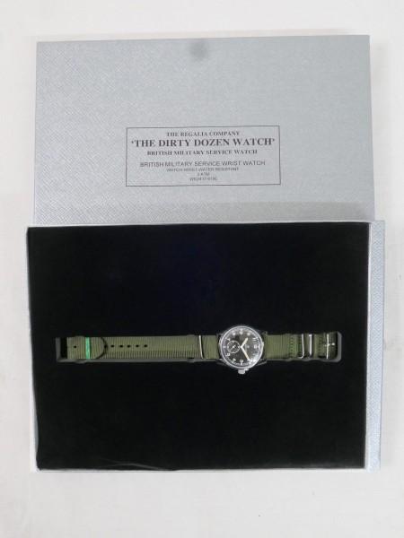 WW2 British Military Service Wrist Watch The Dirty Dozen