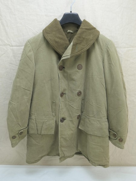 ORIGINAL US WW2 Mackinaw Jacket winter over coat Jeep Jacke Mantel Gr.Small