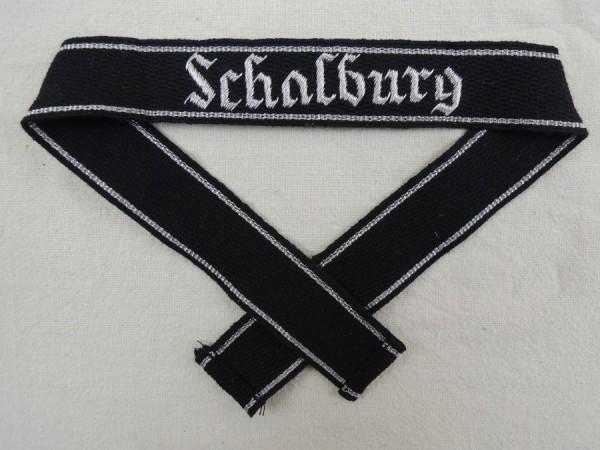 """Elite Ärmelband """"Schalburg"""" Ausführung für Offiziere"""