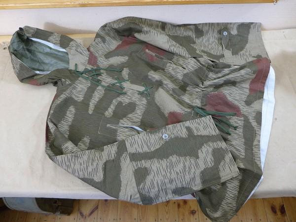 WEHRMACHT sumpftarn sniper smock tan & water Schlupfjacke Scharfschütze