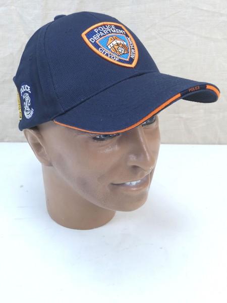 US Baseball Cap Schirmmütze NYPD New York Police Department dunkelblau neu