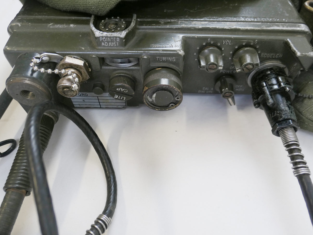 Us Army Funkgert Vietnam Radio Receiver Prc 10 Zubehr Willys Jeep Electrical Wiring
