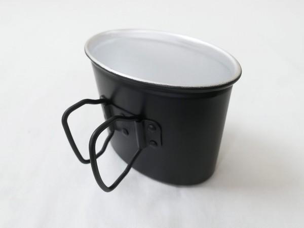 Wehrmacht Feldflaschenbecher Aluminium / Becher für Feldflasche