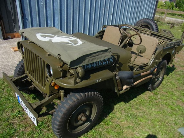 Scheibenabdeckung windshield cover Willy's Jeep MB Ford GPW Hotchkiss