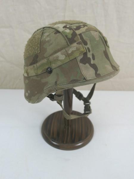 Dänischer Gefechtshelm CGF Gallet Combat Helmet Nato Small Multicam Helmbezug