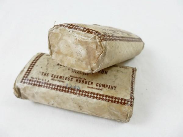 1x Verbandpäckchen US Swansdown absorbent cotton Mullbinde Verband First Aid Kit