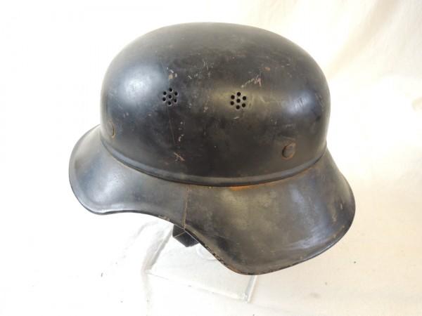 Wehrmacht Luftschutzhelm mit Innenfutter