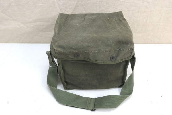 US Army Jeep Tasche Signal Corps CW-189/GR Radio Carry Bag