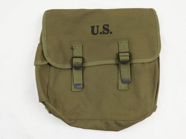 US Army WW2 M-1936 Musette Bag / Kampftasche M36 Khaki (Repro)