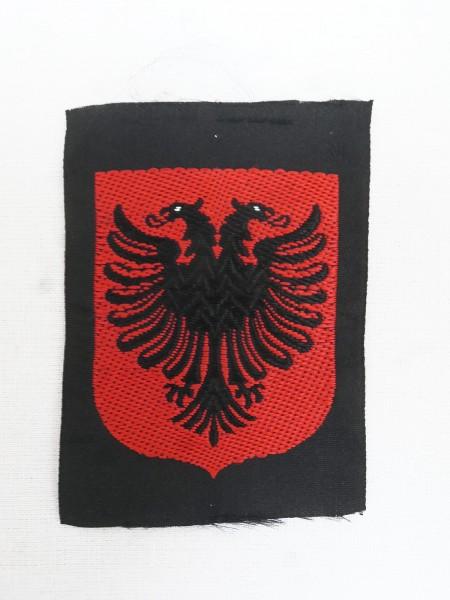 Freiwilligen Ärmelabzeichen Albanien Uniform Ärmelschild Elite Skanderbeg