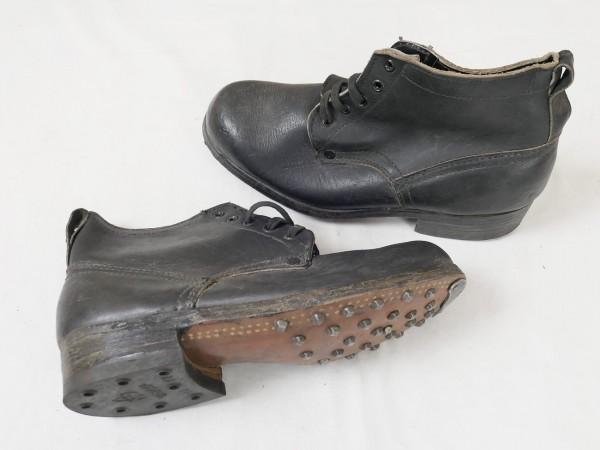 Typ Wehrmacht Waffen Elite Schnürschuhe Stiefel Halbschuhe schwarz Gr.41/42