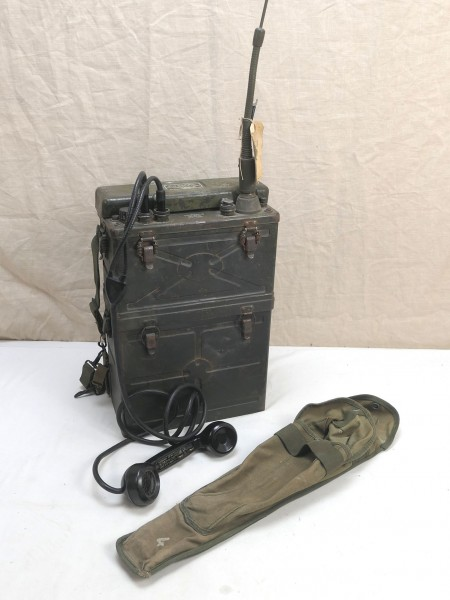 US Army WW2 Signal Corps FUNKGERÄT BC-1000 RADIO RECEIVER + Antenne + Hörer