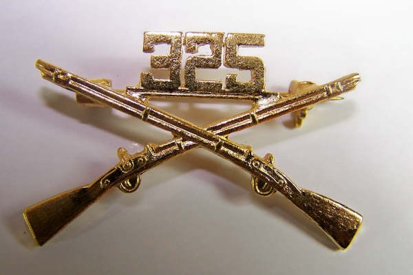 US Army 325th BOS branch of service Kragenabzeichen Paar